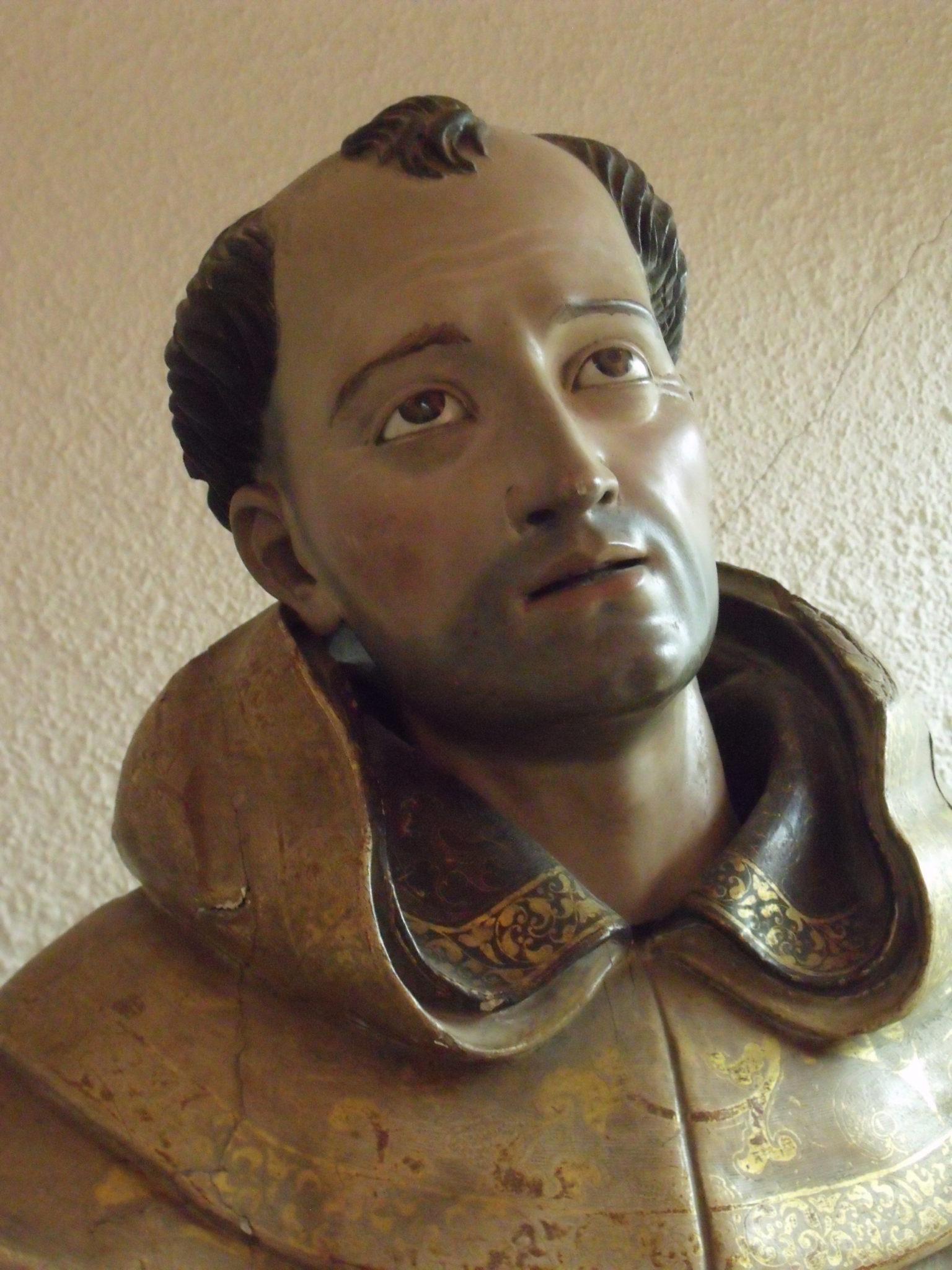 st-john-statue-detail